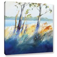 Craig Trewin Penny's Murray River Bank, Gallery Wrapped Canvas - Multi
