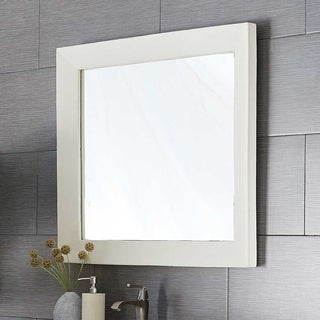 Portola Large Rectangle Concrete Mirror