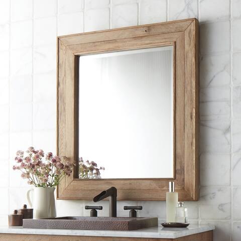 Chardonnay Rectangular Wall Mirror