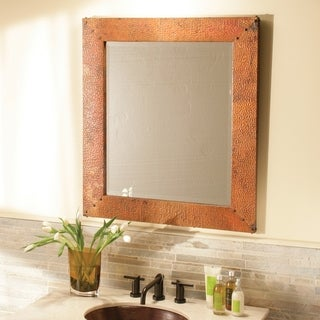 Tuscany Tempered Copper Large Mirror - tempered copper - N/A
