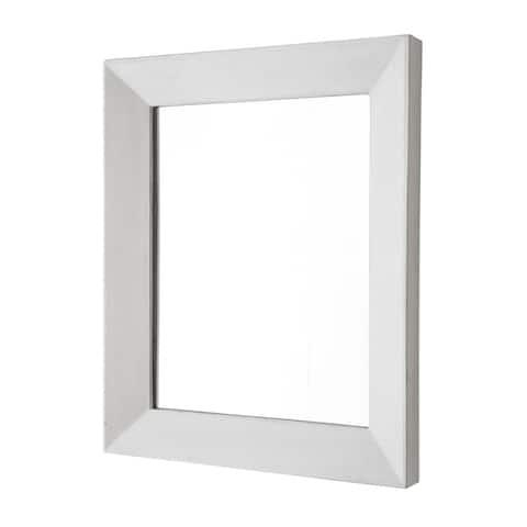 Portola Rectangle Concrete Mirror - A