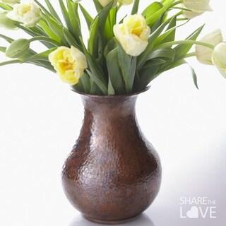 Santa Cruz Antique Copper Vase
