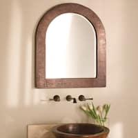 Sedona Antique Copper Arch Mirror - ANTIQUE COPPER