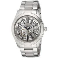 Kenneth Cole New York Men's Automatic 10030815 Skeleton Stainless Steel Watch