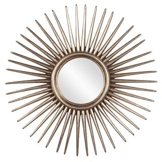 Link to Allan Andrews Silver Leaf Starburst Wall Mirror Similar Items in Mirrors