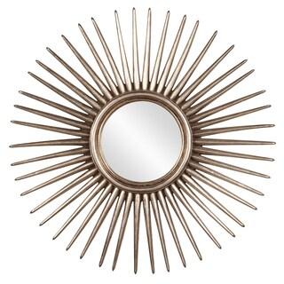 Allan Andrews Cascade Silver Leaf Starburst Mirror
