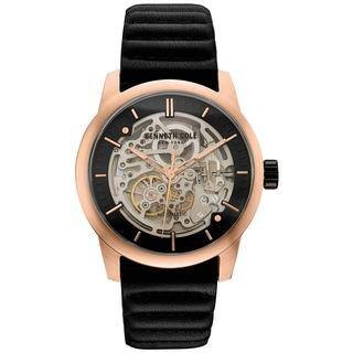 Kenneth Cole New York Men's Automatic 10030789 Skeleton Dial Rose Gold-tone and Black Watch|https://ak1.ostkcdn.com/images/products/18226451/P24367073.jpg?impolicy=medium