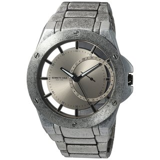 Kenneth Cole New York Men's Transparency 10030787 Antique Stainless Steel Date Watch (Option: Stainless Steel)|https://ak1.ostkcdn.com/images/products/18226469/P24367170.jpg?_ostk_perf_=percv&impolicy=medium