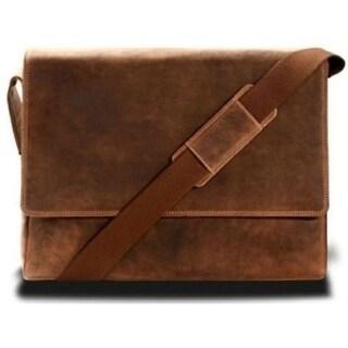 Visconti Texas 18516 Oil Tan Leather Messenger Bag Cross-body Shoulder Handbag (Option: Brown)