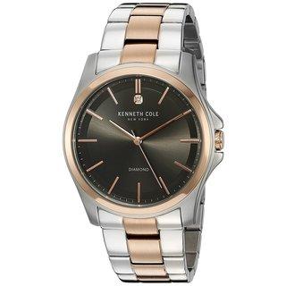 Kenneth Cole New York Diamond 10027880 Two-Tone Watch