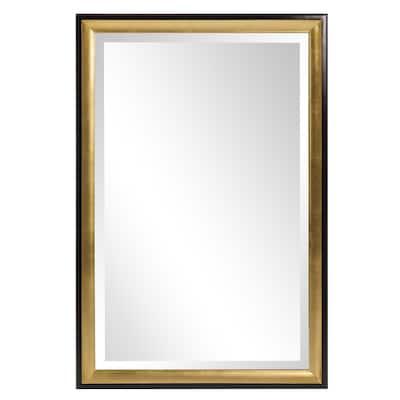 Allan Andrews Cagney GoldWall Mirror - Black/Gold