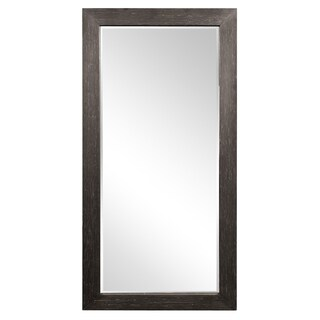 Allan Andrews Lincoln Black Wood Tall Mirror