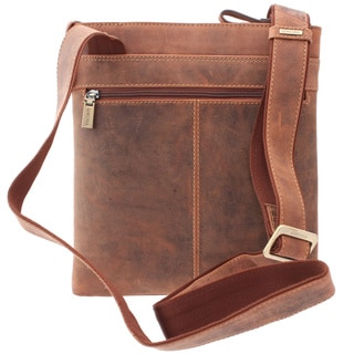 Visconti Taylor Messenger Shoulder Crossbody Bag Handbag for iPad Kindle Oiled Leather