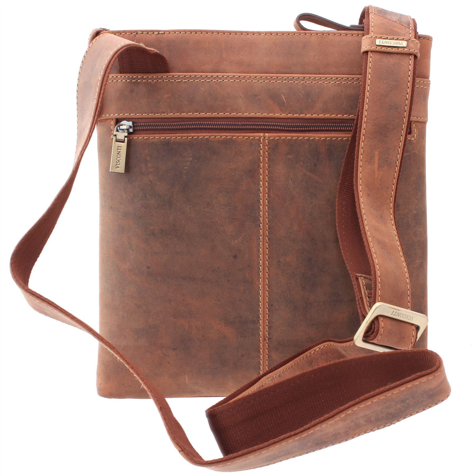 Visconti Taylor Messenger Shoulder Crossbody Bag Handbag ...