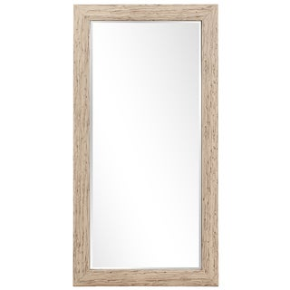Howard Elliott Collection Allan Andrews Lincoln White Wood Tall Mirror