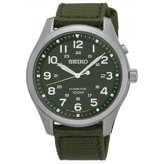 Seiko SKA725 Kinetic Men's Green Dial Watch