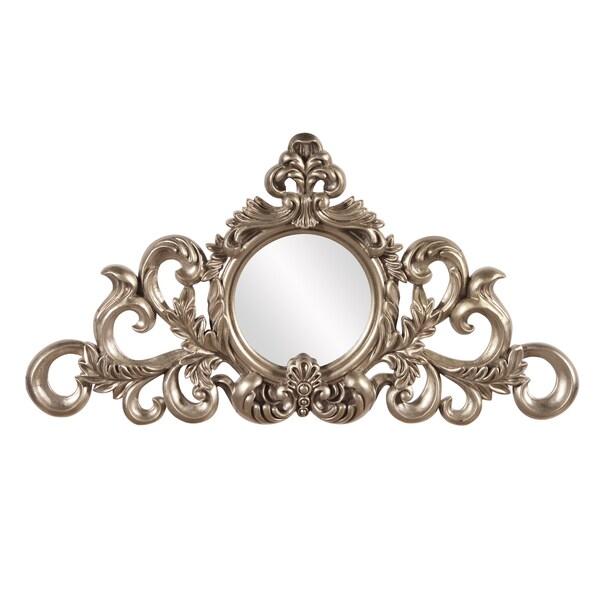 Allan Andrews Irene Silver Leaf Mirror
