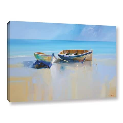 Craig Trewin Penny's Afternoon Gulls, Gallery Wrapped Canvas