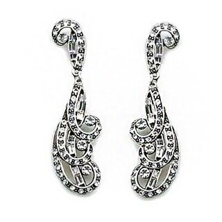 Elvira's Spellbound Crystal Pierced Earrings