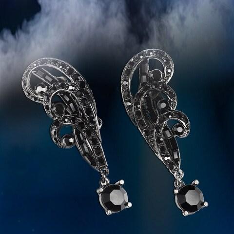 Elvira's Spellbound Crystal Clip On Earrings