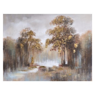 "Yosemite Home Decor ""Enchantment of the Morning Mist"" Original Hand-Painted Wall Art"