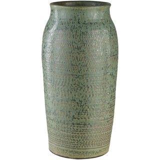 Asim Green Ceramic Traditional Decorative Vase