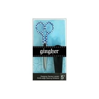 """Gingher Lauren Knife Edge Sewing Scissors 5"""""""