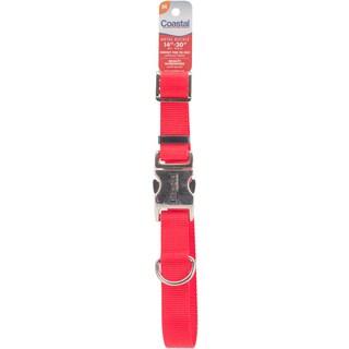 "Adjustable Nylon 1"" Dog Collar With Titan Metal Buckle"