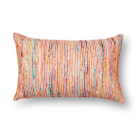 Textured Multi Stripe 13 x 21 Throw Pillow or Pillow Cover