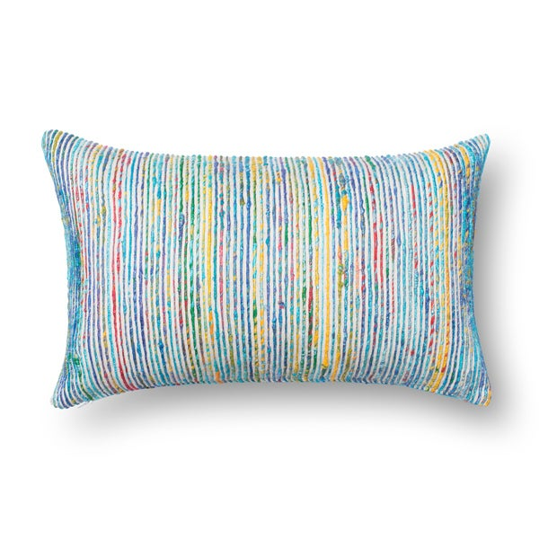 Midnight The Pillow Collection Libby Stripes Pillow