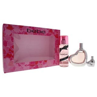 Bebe Women's 3-piece Gift Set|https://ak1.ostkcdn.com/images/products/18227181/P24367770.jpg?impolicy=medium