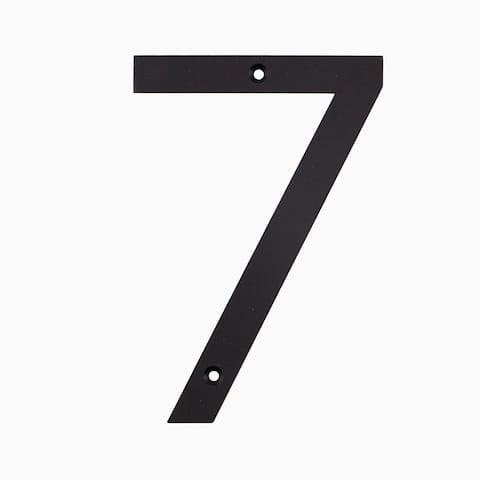 """Maykke Hugo Stainless Steel House Number """"7"""""""