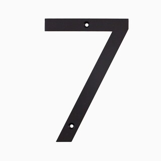 "Maykke Hugo Stainless Steel House Number ""7"""