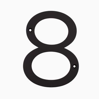 """Maykke Hugo Stainless Steel House Number """"8"""""""