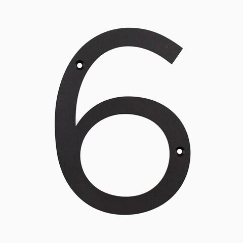 "Maykke Hugo Stainless Steel House Number ""6 or 9"""