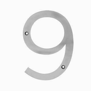 "Maykke Hugo Stainless Steel House Number ""6 or 9"""