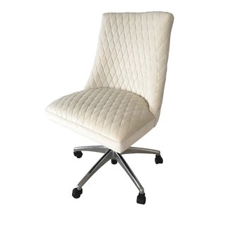 Arlene Office Chair Cream Mistral Velvet