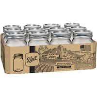Ball Regular Mouth Canning Jars 12/Pkg