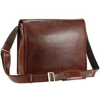 Visconti VT7 Stylish Quality Vintage Tan Soft Genuine Leather Messenger Bag Cross-Body