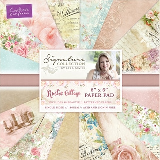 """Crafter's Companion Single-Sided Paper Pad 6""""X6"""" 48/Pkg"""