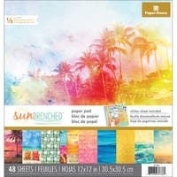 """Paper House Double-Sided Paper Pad 12""""X12"""" 48/Pkg"""