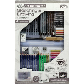Art Instructor Sketching & Drawing Clearview Art Set