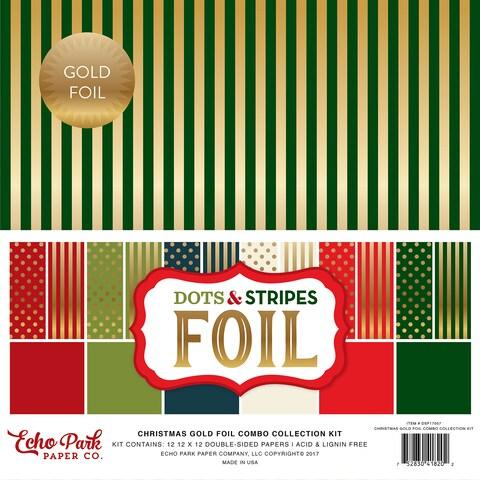 Ecko Park Dot&St Christmas Gold Foil Combo CollKit
