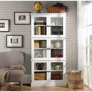 Homestar Alto White Display Cabinet