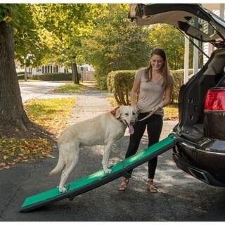 Pet Gear Travel Lite Tri-Fold Pet Ramp with Supertrax Tread