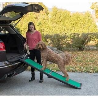 Pet Gear Bi-Fold Pet Ramp with Supertrax Tread
