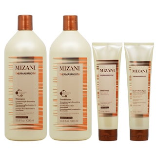 Mizani Thermasmooth Smoothing 4-piece Hair Care Set