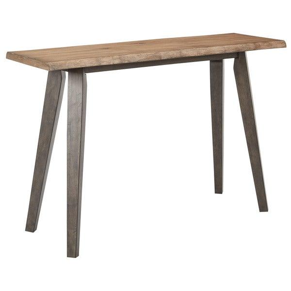 OSP Designs Oakridge Brown Wood Indoor Foyer Table