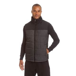 Champion Men's Big and Tall Herringbone Quilted Puffer Vest|https://ak1.ostkcdn.com/images/products/18228176/P24368641.jpg?impolicy=medium