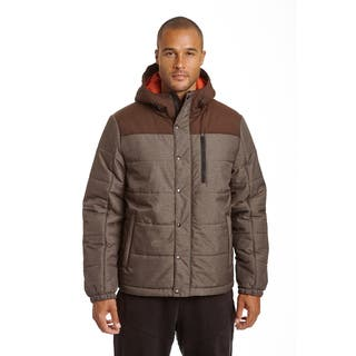 Champion Men's Big and Tall Herringbone Quilted Puffer with Hood|https://ak1.ostkcdn.com/images/products/18228180/P24368643.jpg?impolicy=medium